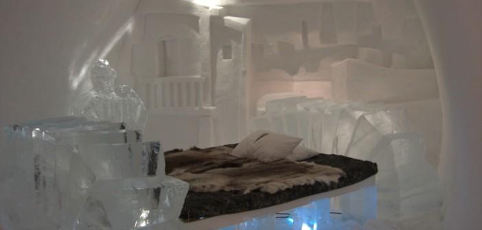 IceHotel Jukkasjarvi in Schweden